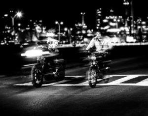 Motorcycle Rider's and Lane Splitting