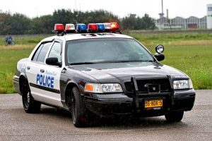 Accident Involving Police Vehicle on Causeway Street