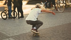 Collision Involving Skateboarder and Vehicle Injures Jared Almond